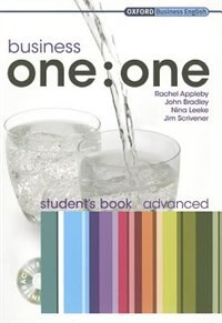 Book Business one:one: Advanced Business One to One Advanced Student Book Pack by Rachel Appleby