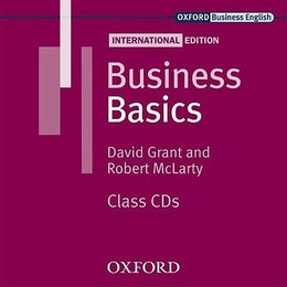 Book Business Basics International Edition: Class Audio CDs (2) by David Grant