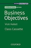 Business Objectives International Edition: Cassette