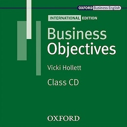 Book Business Objectives International Edition: Audio CD by Vicki Hollett