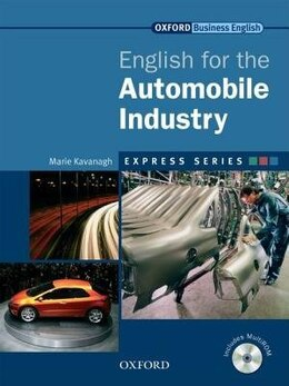 Book Express: English for the Automobile Industry: Student Book and MultiROM by Marie Kavanagh