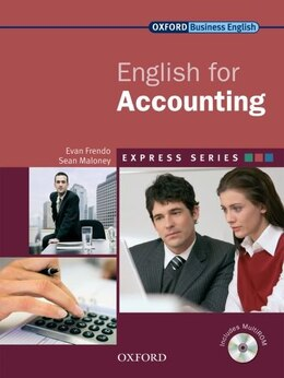 Book Express: English for Accounting: Student Book and MultiROM by Sean Maloney