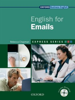 Book Express: English for Emails: Student Book and MultiROM by Rebecca Chapman