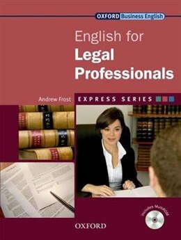 Book Express: English for Legal Professionals: Student Book and MultiROM by Andrew Frost