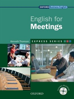 Book Express: English for Meetings: Student Book and MultiROM by Kenneth Thomson