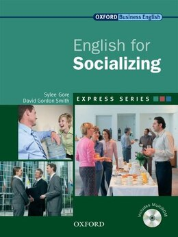 Book Express: English for Socializing: Student Book and MultiROM by Sylee Gore