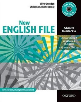 Book New English File: Advanced MultiPACK A by Clive Oxenden