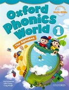 Oxford Phonics World: Level 1 Student Book with MultiROM: The Alphabet