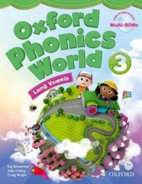 Oxford Phonics World: Level 3 Student Book with MultiROM: Long Vowels