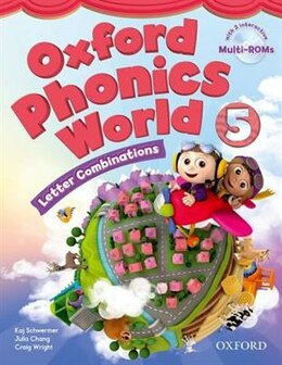 Book Oxford Phonics World: Level 5 Student Book with MultiROM: Letter Combinations by Koj Schwermer