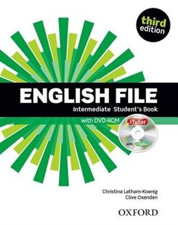 Book English File: Intermediate Students Book with iTutor by Christina Latham-Koenig