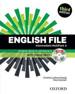 Book English File: Intermediate MultiPACK A by Christina Latham-Koenig