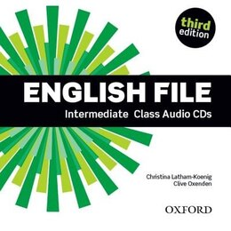 Book English File: Intermediate Class Audio CDs by Christina Latham-Koenig