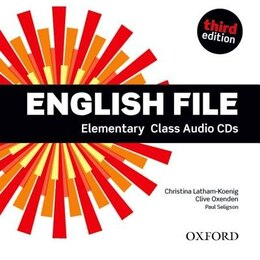 Book English File: Elementary Class Audio CDs by Christina Latham-Koenig