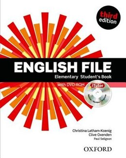 Book English File: Elementary Students Book with iTutor Pk by Christina Latham-Koenig