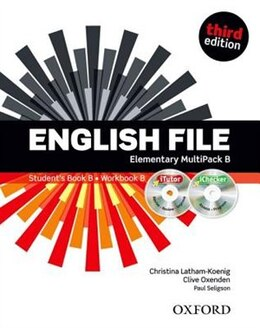 Book English File: Elementary MultiPACK B with iTutor and iChecker by Christina Latham-Koenig