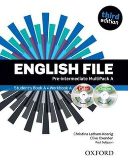Book English File: Pre-Intermediate MultiPACK A with iTutor and iChecker by Christina Latham-Koenig