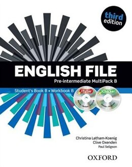 Book English File: Pre-Intermediate MultiPACK B with iTutor and iChecker by Christina Latham-Koenig