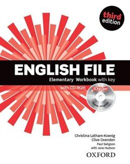 Book English File: Elementary Workbook with key and iChecker by Christina Latham-Koenig