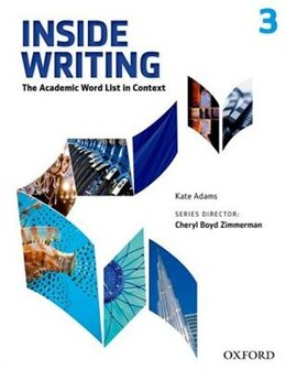 Book Inside Writing: Level 3 Student Book by Kate Adams
