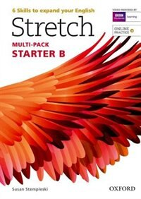 Book Stretch: Starter Students Book and Workbook Multi-Pack B with Online Practice by Susan Stempleski