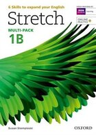 Stretch: Level 1 Students Book and Workbook Multi-Pack B with Online Practice
