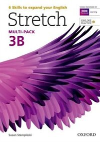 Book Stretch: Level 3 Students Book and Workbook Multi-Pack B with Online Practice by Susan Stempleski