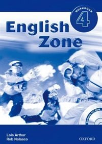 Book English Zone International: Level 4 Workbook with CD-ROM Pack by Rob Nolasco