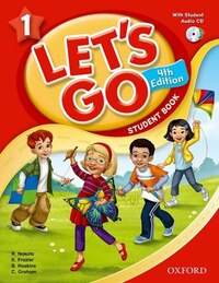 Lets Go: Level 1 Student Book with Multi-rom Pack