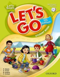 Lets Go: Lets Begin Student Book With Audio CD Pack