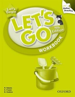 Book Lets Go: Level 0 Workbook with Online Practice Pack by Ritsuko Nakata