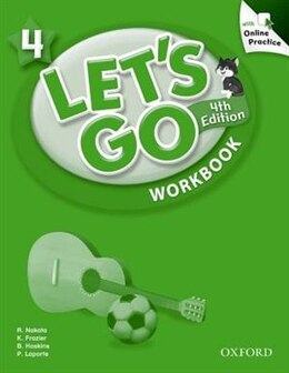 Book Lets Go: Level 4 Workbook with Online Practice Pack by Ritsuko Nakata