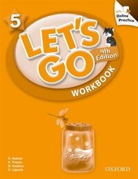 Lets Go: Level 5 Workbook with Online Practice Pack