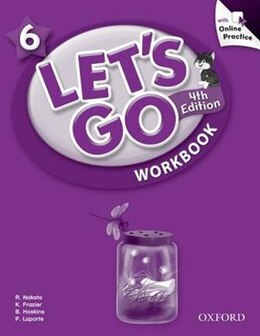 Book Lets Go: 6 Workbook with Online Practice Pack by Ritsuko Nakata