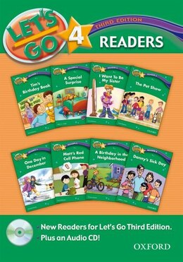 Book Lets Go: Level 4, Third Edition Reader Pack by R. Nakata