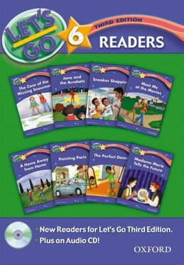 Book Lets Go: Level 6, Third Edition Reader Pack by R. Nakata
