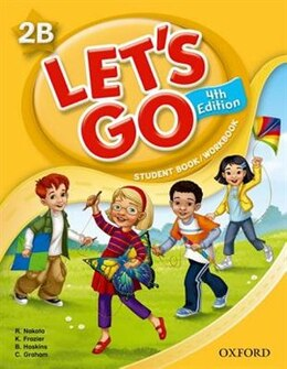 Book Lets Go: Level 2b Student Book/Workbook by Ritsuko Nakata