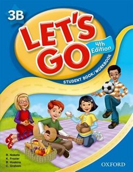 Book Lets Go: Level 3b Student Book/Workbook by Ritsuko Nakata