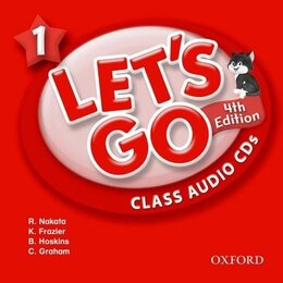 Book Lets Go: 1 Class Audio CDs by Ritsuko Nakata