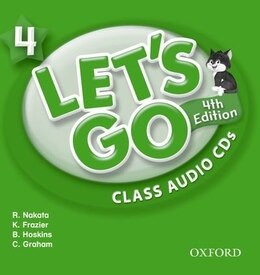 Book Lets Go: 4 Class Audio CDs by Ritsuko Nakata