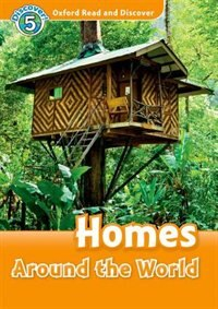 Book Oxford Read and Discover: Level 5 - 900 Headwords Homes Around the World Audio CD Pack by Hazel Geatches