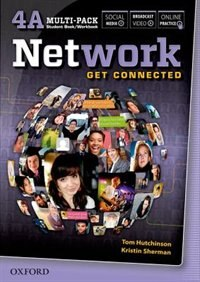 Book Network: 4A Multi-Pack: Student Book/Workbook Split Edition by Tom Hutchinson