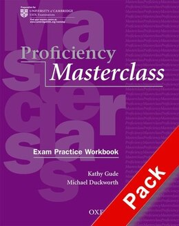 Book Proficiency Masterclass: Workbook Pack Without Key by Kathy Gude
