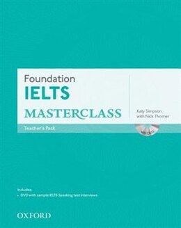 Book Foundation IELTS Masterclass: Teachers Pack by Katy Simpson