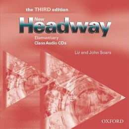 Book New Headway English Course: Elementary, Third Edition Class Audio CDs (2) by John Soars