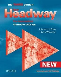 Book New Headway English Course: Pre-Intermediate, Third Edition Workbook with Key by John Soars