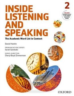Book Inside Listening and Speaking: Level Two Student Book: The Academic Word List in Context by Daniel Hamlin