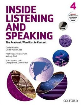 Book Inside Listening and Speaking: Level Four Student Book: The Academic Word List in Context by Daniel Hamlin