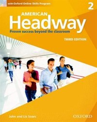 American Headway: Level 2 Students Book + Oxford Online Skills Program Pack