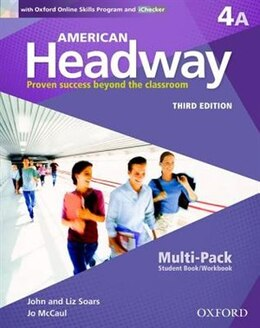 Book American Headway: Level 4A Multi-Pack by John Soars